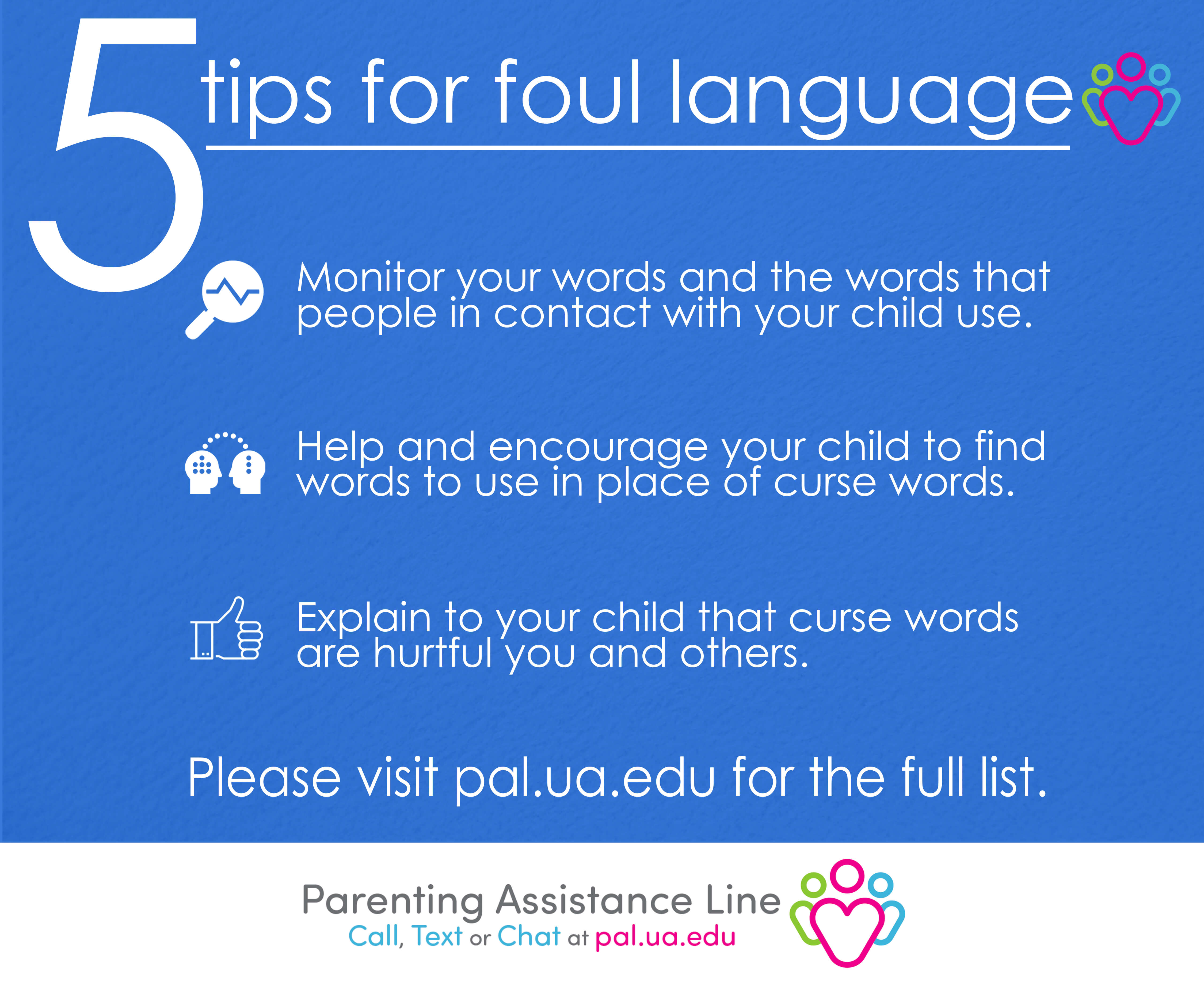 5 tips for foul language